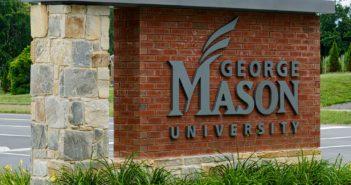 George Mason University Sign