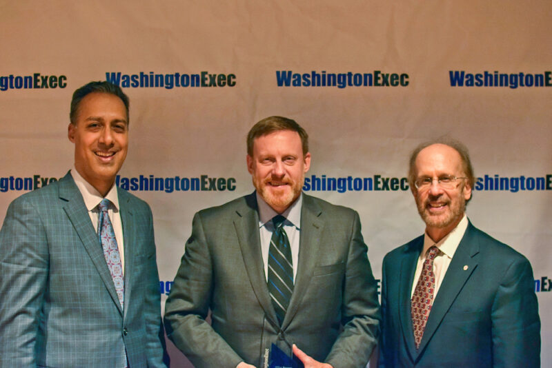 Left to right: JD Kathuria, Mike Rogers and Greg Baroni