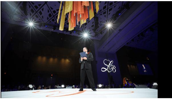 Neil Kishter who last year received the James L. Eichberg Lifetime Achievement Award at the Leukemia & Lymphoma Society's 31st annual Leukemia Ball.