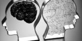 Artificial intelligence (AI) against the human brain.