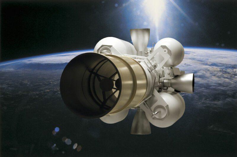 Raytheon's Exoatomospheric Kill Vehicle is the intercept component of the Ground-Based Interceptor. Image: Raytheon