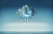 Cloud computing with raining machine code.