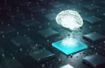 Image: archy13/iStockMachine learning , artificial intelligence, ai, deep learning blockchain neural network concept. Brain made with shining wireframe above multiple blockchain cpu on circuit board 3d render. (Machine learning , artificial intelligence, ai, deep learning