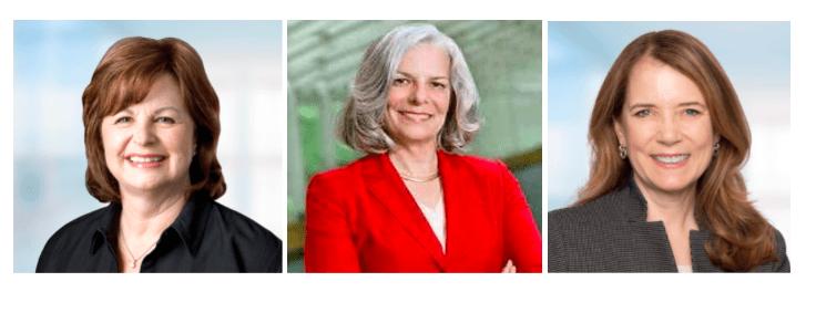 Linda Dillman, Dr. Julie Gerberding and Melinda Mount, Cerner