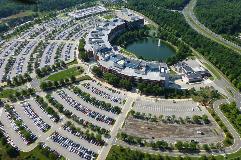 The Defense Logistics Agency headquarters building on Fort Belvoir, Virginia. Photo: Mike Vaccaro/U.S. Army