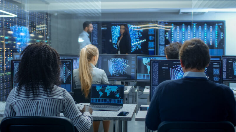 """Thenewly released memo""""strongly urges"""" intelligence agencies to fully use CARES Act flexibilities that allow agencies to modify contracts when contractor employees can't access authorized work sites or work remotely because of COVID-19 health and safety restrictions. Image: gorodenkoff/iStock"""
