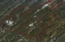 The 33,500-acre Oak Ridge Reservation, outlined in red, contains three primary cleanup areas-- the East Tennessee Technology Park, Oak Ridge National Laboratory, and Y-12 National Security Complex. Image: DOE