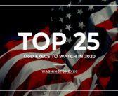 Top 25 DOD Execs to Watch in 2020