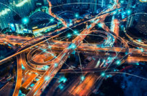 Road Intersection, Cloud Computing, Technology, Traffic Jam, Chinese Currency,Big Data, Connection, Internet of Things