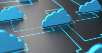 Cloud computing or cloud network concept
