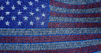 USA Flag of Binary Code. Image: bestdesigns/iStock