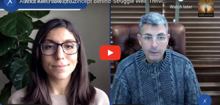 WATCH: Author Ken Falke on Concept Behind 'Struggle Well: Thriving in the Aftermath of Trauma'
