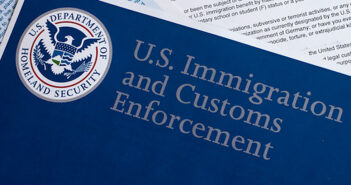 US Customs and Border Protection form to fill out. Image: danielfela/iStock