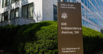 Image: P_Wei/iStock Washington, D.C., USA - July 22, 2019: This is the exterior of the FAA building in Washington DC. The Federal Aviation Administration is tasked with regulating the airspace in the United States and all things aviation from certification, licensing regulatory compliance, and policy-making.