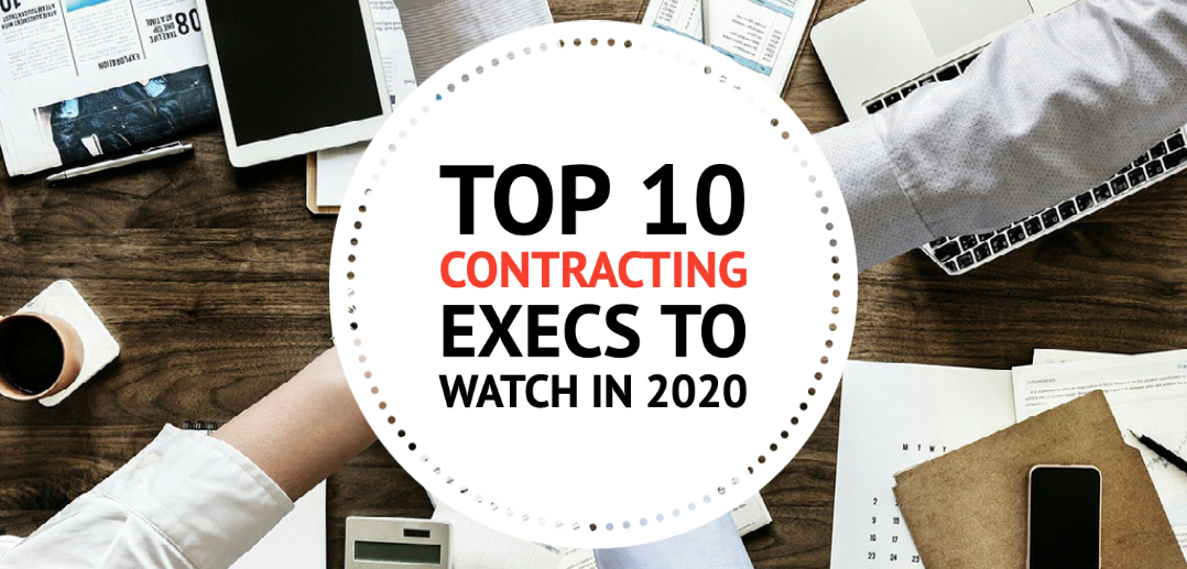 Top 10 Contracting Execs to Watch in 2020- 8