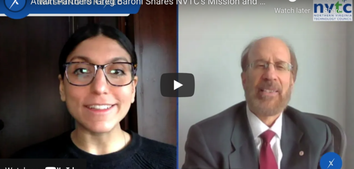 WATCH: Attain Partners' Greg Baroni Shares NVTC's Mission and 2021 Priorities