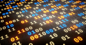 A close-up on a data set of random binary numbers. Image: matejmo/iStock