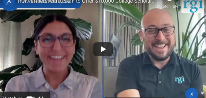 WATCH: RGi Partners with USGIF to Offer $10K College Scholarship