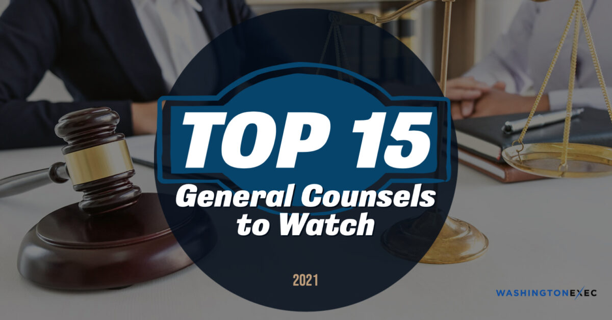 Top 15 General Counsels 2021